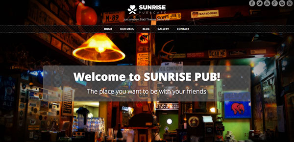 theme-wordpress-gratuit-2013-sunrise