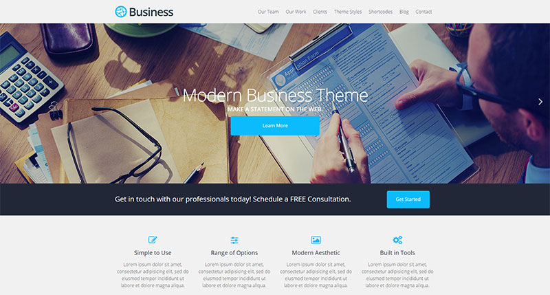 A-modern-Business-theme-for-WordPress