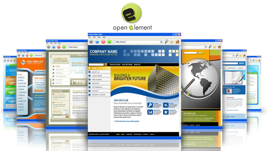 open-element-creation-de-site-gratuit