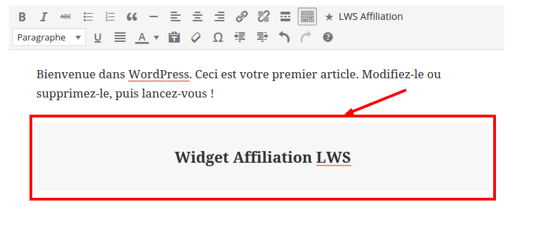 plugin-Wordpress Affiliation-hebergeur-web