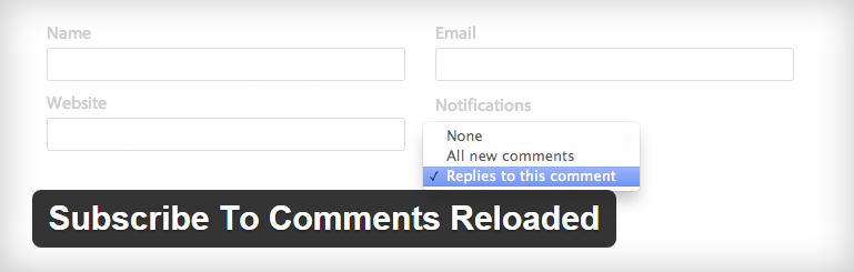 WordPress-Subscribe-To-Comments-Reloadeds