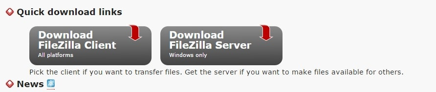 Filezilla-project