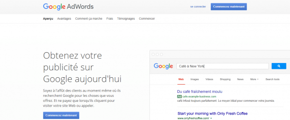 Adwords ou Facebook