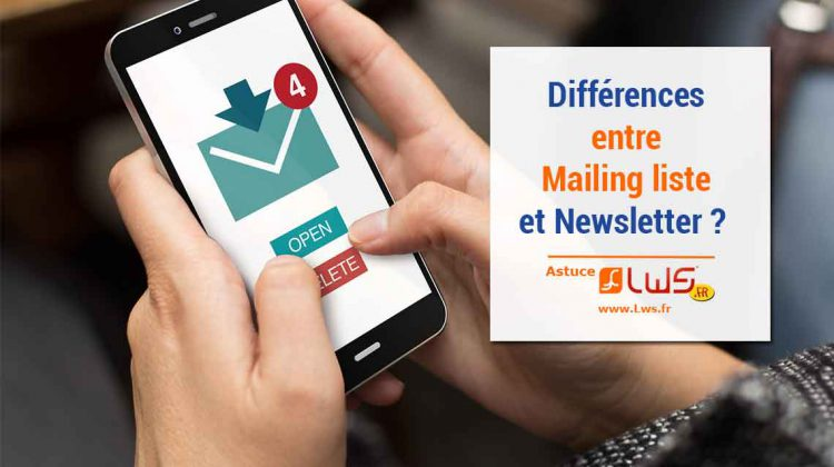 différence-mailing-liste-newsletter