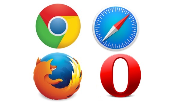 Chrome-Safari-Firefox-Opera