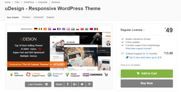 site WordPress Responsive