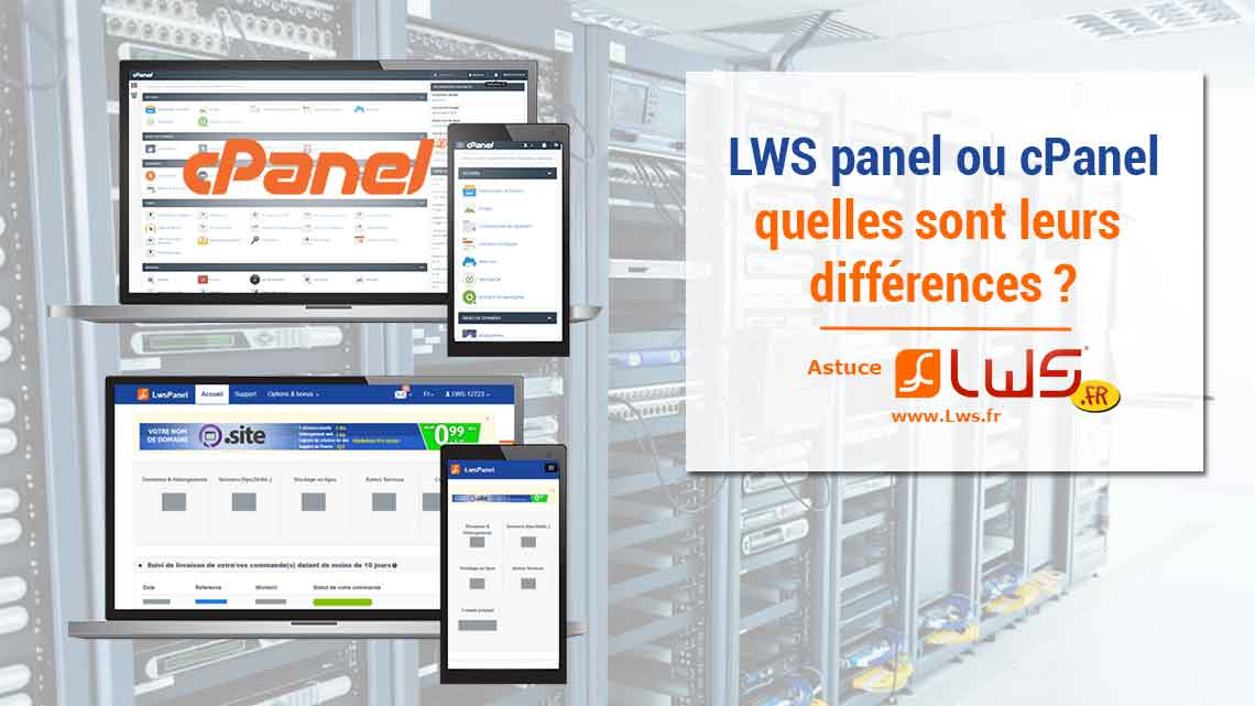 lwspanel-cpanel-differences