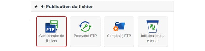gestionnaire fichiers PHP